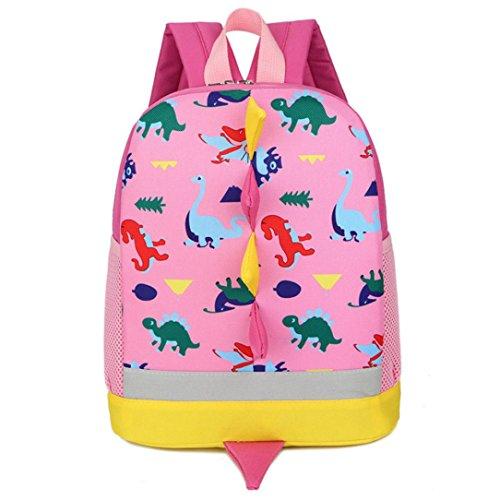 Sonnena - Bolso mochila  de Lona para mujer Rosa rosa Rosa