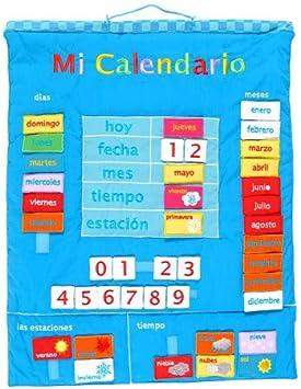 Fiesta Crafts-Mi Calendario español (1): Amazon.es: Juguetes y juegos