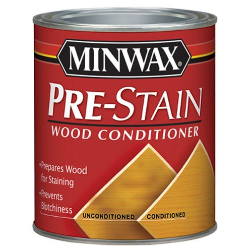 Minwax 61500444 Pre Stain Wood Conditioner, 1 Quart (Gel Stain Oak Cabinets Before And After)