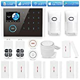 Best DIY Alarm Systems - GSM 3G/4G WiFi Home Security Alarm System, TINGPO Review