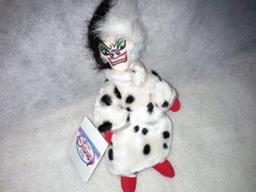 Cruella Deville Beanie Baby from 101 Dalmatians by Disney