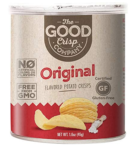 (The Good Crisp Company Gluten Free Stacked Potato Chips, 12 Pack, 1.6 Ounces)