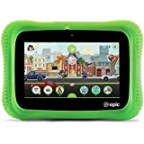 LeapFrog Epic Academy Edition 7-inch Touchscreen Kids Tablet 1.3 GHz Quad-Core Processor 16GB Memory Android OS, Green (Non-Retail Packaging)