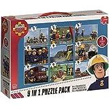 Jumbo Games Fireman Sam 9-in-1 Jigsaw Puzzle Bumper Pack