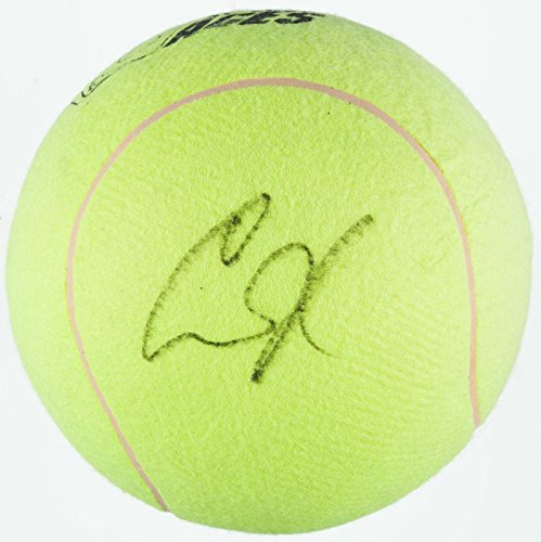Anna Kournikova Signed Oversized Wtt St Louis Aces Tennis Ball Basketball Sized - Autographed Tennis Balls