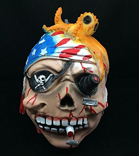 USA Halloween Festival Horrible Scary Decorative Props Tricky Beheaded Ghost Decorations American Pirates (Usa Halloween Day)