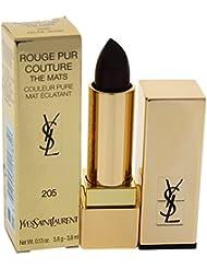 Yves Saint Laurent Rouge Pur Couture The Mats - # 205 Prune Virgin By Yves Saint Laurent for Women - 0.13 Oz Lipstick, 0.13 Oz
