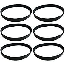 6 Dirt Devil Style 4, 5 & 10 Durable Vacuum Belts Designed To Fit Dirt Devil Fantom Fury, Featherlite, Swivel Glide, Vision Uprights, Compare To Part # 1540310001, 3720310001, 1LU0310X00, 3860140600, Designed & Engineered by Crucial Vacuum