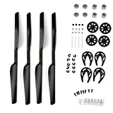 Womail Propeller&Gears Gear Guard & Bearing & Shaft Set for Parrot AR Drone 1&2.0