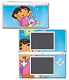 Dora the Explorer Boots Backpack Diego Map Video Game Vinyl Decal Skin Sticker Cover for Nintendo DS Lite System