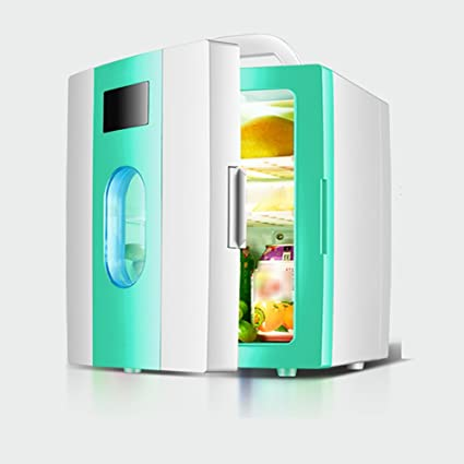 FJW Mini Nevera Enfriador Y Calentador Eléctrico 10L Alta Capacidad Refrigerador Del Refrigerador Del Coche AC