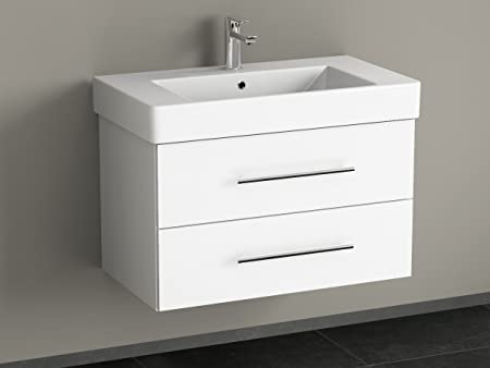 Cabine Bagno Complete : Bagno aqua flex bathroom furniture 80 cm with wash basin white