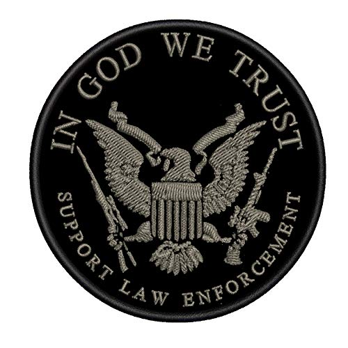 in God We Trust - Support Our Law Enforcement - 3.5