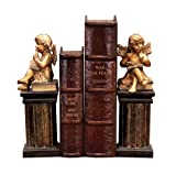 Sterling Home Pair of Thinking Cherub Bookends, 10-3/4-Inch Tall