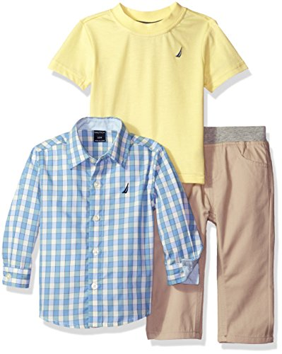 Nautica Three Piece Sleeve Plaid product image