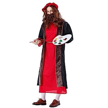 1-1 Carnaval de Halloween Edad Hombres Renacimiento Etapa Drama ...