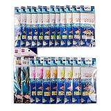 FREE FISHER Assorted 22 Packs Freshwater/Saltwater Fishing Sabiki Bait Rigs Fish Skin/Feather Hooks