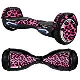MightySkins Protective Vinyl Skin Decal for Razor Hovertrax 2.0 Hover Board Self-Balancing Smart Scooter wrap cover sticker skins Pink Leopard