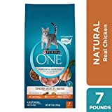 Purina ONE Natural Dry Cat Food; Tender Selects Blend With Real Chicken - 7 lb. Bag