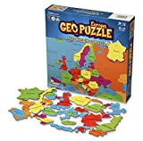 Geotoys GeoPuzzle Europe - Educational Geography Jigsaw Puzzle (58 pcs) - by