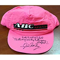 Jim McKay Signed ABC Hat Wide World Of Sports - Beckett Authentication