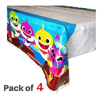 Micher Baby Shark Table Cover Party Supplies Decoraciones ...