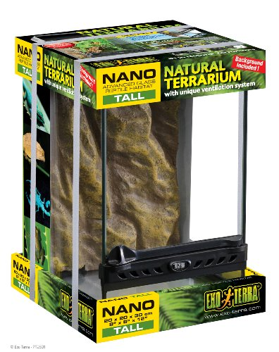 Exo Terra Glass Natural Terrarium Nano/Tall – 8 x 8 x 12 Inches 51JSYllKiiL the pet shop nearby me The pet shop nearby me 51JSYllKiiL