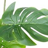 "24"" Artificial Split Philodendron Monstera Leaf"