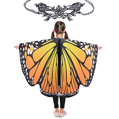 Butterfly Wings for Girls Kids Halloween Costume