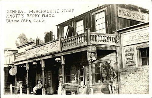 General Merchandise Store, Knott's Berry Place Buena Park, California Original Vintage - Place Stores Park