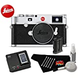 Leica M10 Digital Rangefinder 24MP Camera 20000 (Silver) Bundle