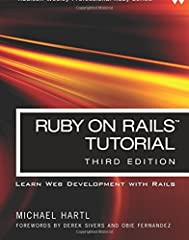 """""""Ruby on Rails™ Tutorial by Michael Hartl has become a must-read for developers learning how to build Rails apps.""""  —Peter Cooper, Editor of Ruby Inside  Used by sites as diverse as Twitter, GitHub, Disney, and the Yellow Pages, Ruby on Rail..."""