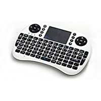 Esky Mini Wireless Keyboard with Touchpad, Ultra Slim Gaming keyboard with 2.4GHz USB Nano for PC, Pad, Andriod TV Box, Google TV Box, Xbox360, PS3, HTPC/IPTV