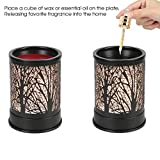 Foromans Wax Melts Candle Warmer Classic Black