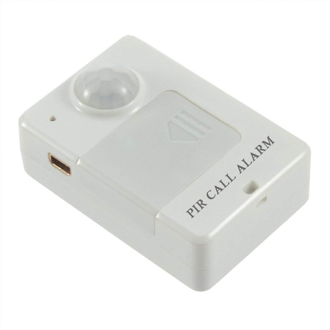 Mini PIR Sensor de alerta Infrarrojo GSM Monitor de alarma inalámbrico Detección de movimiento Venta caliente Detector de movimiento antirrobo inalámbrico Laurelmartina