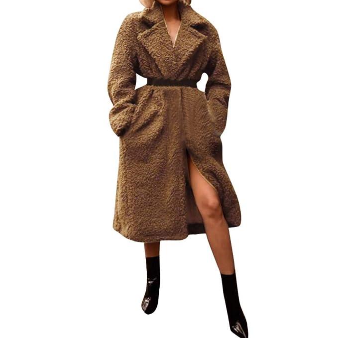 Cardigan Mujer Invierno Capucha,Modaworld Cardigan con Capucha Leopardo De Impresión Escudo Cárdigan De Punto Sin Cierre Abrigo De Manga Larga Jersey De ...