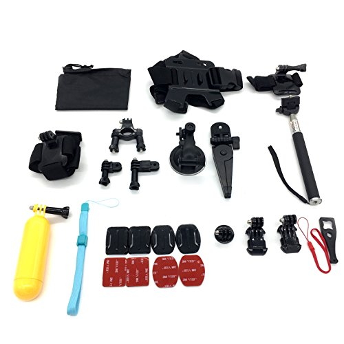 Silfrae Gopro Accessory Kit GoPro Holder Accessories For Sports Outdoor activities (Gopro Kit) by Silfrae