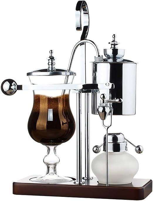 SDKFJ Cafetera ama de casa de café, de Acero Inoxidable sifón ...