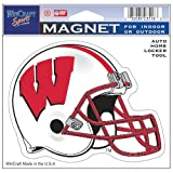 Wisconsin Badgers Official NCAA 4.5''x6'' Car Magnet by Wincraft