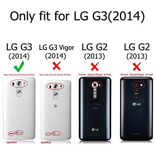 info for 3ce57 5559c Fintie LG G3 Smart Circle Case - [Quick Circle Window] Premium PU ...