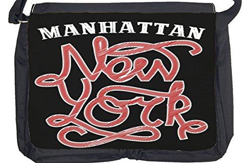 Borsa Tracolla Città New York Stampato