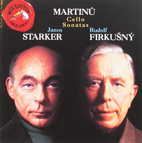 Bohuslav Martinu: Cello Sonatas 1 2 3 - Janos Starker / Rudolf Firkusny