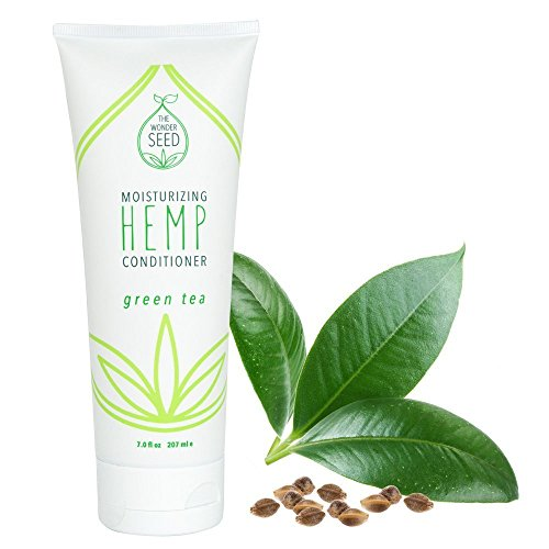 The Wonder Seed Hemp Conditioner - All Natural Organic Formula - Best Solution for Damaged Hair/ Dry Itchy Scalp & More - Vegan