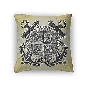 51JSd6aJjPL._SS300_ 100+ Nautical Pillows & Nautical Pillow Covers