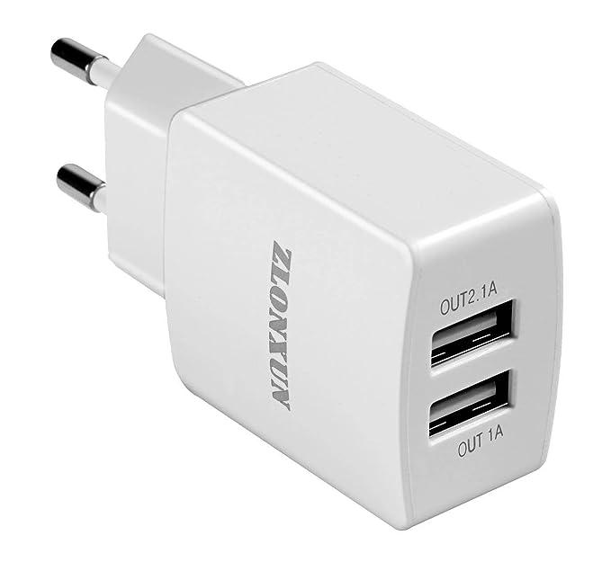 Cargador USB de Pared Dual Puerto 2.1A para iphone,ipad ...