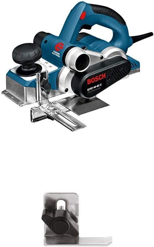 Bosch Professional GHO 40-82 C - Cepilladora, ancho de cepillado 82 mm, en maletín, 850 W + Bosch 1 608 132 006 - Tope de profundidad - - (pack de 1): Amazon.es: Bricolaje y herramientas