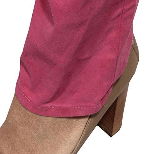 Jeans Ralph Donna Trousers Skinny Women Lauren Pantaloni Fuschia 65714 tqrwqWfT