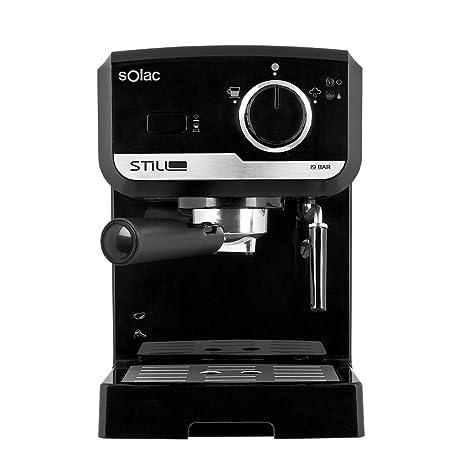 Solac CE4493 - Cafetera Espresso 19 Bar, bomba de presión 19 bares, con portafiltros