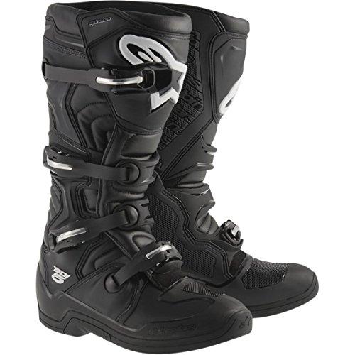 Motorcross Leather - Alpinestars Tech 5 Boots-Black-11