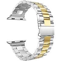 Kacowpper ¡ Accesorio para la Venta Caliente de Halloween del Reloj de Apple Pulsera de Acero Inoxidable Elegante Reloj Banda Correa para Apple Watch Series 4 44mm/40mm